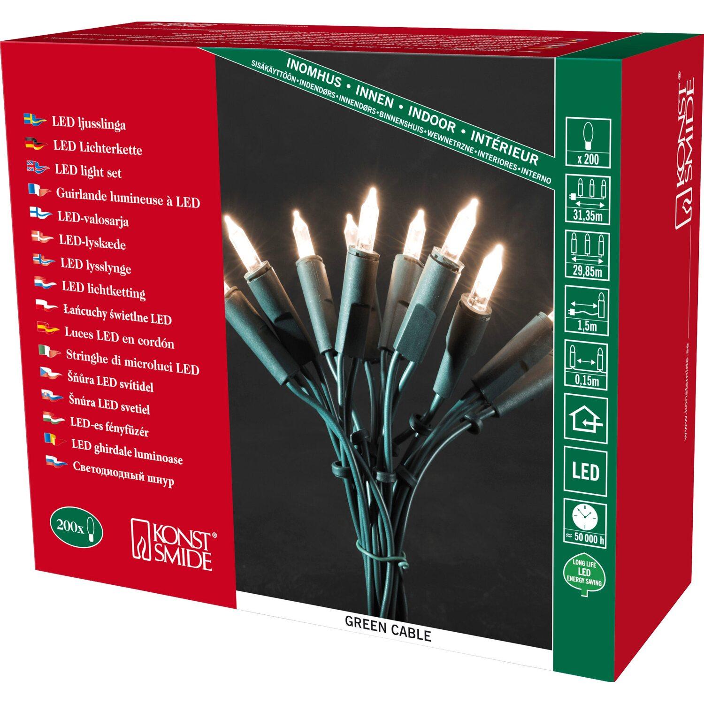 mit Knopfzellen 20 LEDs VBS Mini-LED-Lichterkette